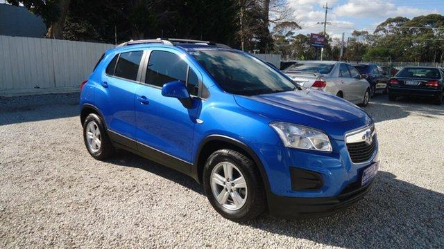 Used Holden Trax TJ MY16 LS Seaford, 2016 Holden Trax TJ MY16 LS Blue 6 Speed Automatic Wagon