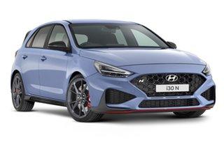 2021 Hyundai i30 Pde.v4 MY22 N D-CT Performance Blue 8 Speed Automatic Hatchback