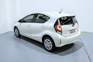 2017 Toyota Prius c NHP10R MY17 Hybrid White Continuous Variable Hatchback