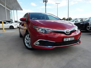 2017 Toyota Corolla ZRE182R Ascent Sport S-CVT Maroon 7 Speed Constant Variable Hatchback.