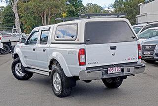 2013 Nissan Navara D22 S5 ST-R White S/bl 5 Speed Manual Utility.
