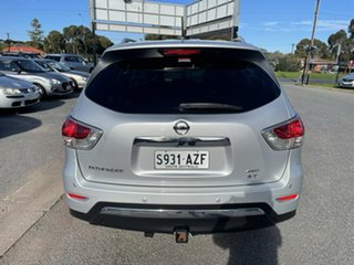 2013 Nissan Pathfinder R52 MY14 ST X-tronic 4WD Silver 1 Speed Constant Variable Wagon
