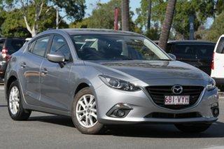 2015 Mazda 3 BM5278 Maxx SKYACTIV-Drive Silver 6 Speed Sports Automatic Sedan.