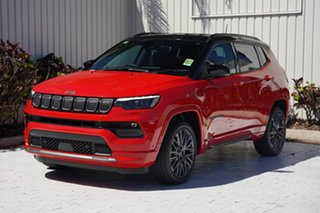 2021 Jeep Compass M6 MY21 S-Limited Colorado Red 9 Speed Automatic Wagon