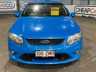 2009 Ford Falcon FG XR6 Blue 6 Speed Sports Automatic Sedan.