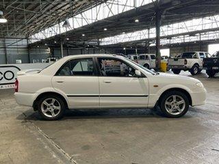 2003 Mazda 323 BJ II-J48 Protege White 5 Speed Manual Sedan