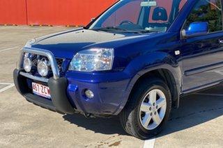 2004 Nissan X-Trail T30 TI (4x4) Blue 4 Speed Automatic Wagon.