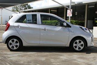 2016 Kia Picanto TA MY17 SI Bright Silver 4 Speed Automatic Hatchback.