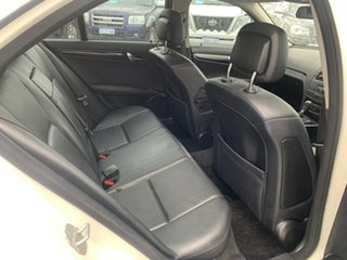 2008 Mercedes-Benz C200 W204 Kompressor Classic White 5 Speed Auto Tipshift Sedan