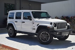 2021 Jeep Wrangler JL MY21 Unlimited 80th Anniversary Bright White 8 Speed Automatic Convertible.
