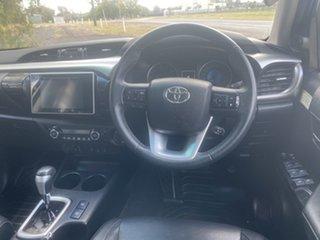 2018 Toyota Hilux GUN126R MY17 SR5+ (4x4) Silver Sky 6 Speed Automatic Dual Cab Utility