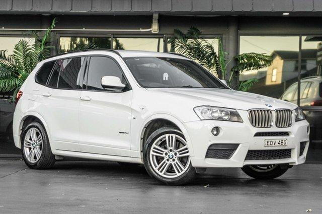 Used BMW X3 F25 xDrive30d Steptronic Bowen Hills, 2011 BMW X3 F25 xDrive30d Steptronic White 8 Speed Automatic Wagon