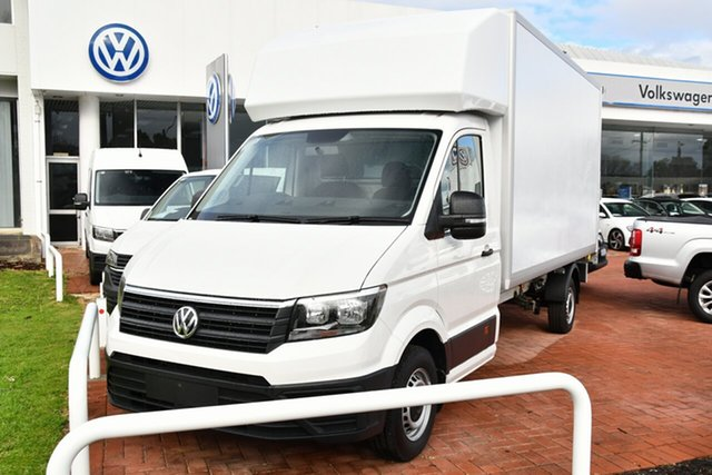 New Volkswagen Crafter SY1 MY21 35 LWB FWD TDI340 Victoria Park, 2021 Volkswagen Crafter SY1 MY21 35 LWB FWD TDI340 Candy White 8 Speed Automatic Cab Chassis