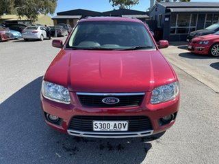 2009 Ford Territory SY MkII TS RWD Red 4 Speed Sports Automatic Wagon.