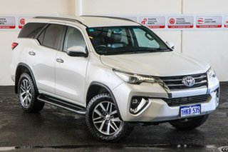 2018 Toyota Fortuner GUN156R MY18 Crusade Crystal Pearl 6 Speed Automatic Wagon.