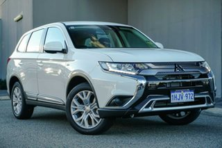 2021 Mitsubishi Outlander ZL MY21 ES 2WD White 6 Speed Constant Variable Wagon.