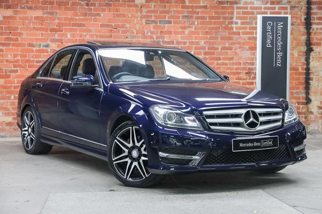 Certified Pre-Owned Mercedes-Benz C-Class W204 MY13 C300 7G-Tronic + Avantgarde Mulgrave, 2013 Mercedes-Benz C-Class W204 MY13 C300 7G-Tronic + Avantgarde Cavansite Blue 7 Speed