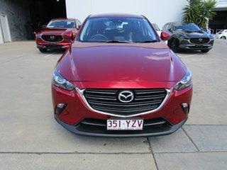 2019 Mazda CX-3 DK2W7A Maxx SKYACTIV-Drive FWD Sport Soul Red Crystal 6 Speed Sports Automatic Wagon.