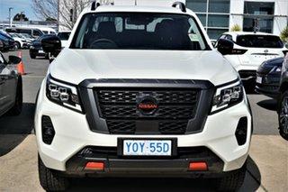 2021 Nissan Navara D23 MY21 Pro-4X White Pearl 7 Speed Sports Automatic Utility.