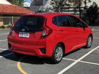 2015 Honda Jazz GF MY15 VTi Red 5 Speed Manual Hatchback.