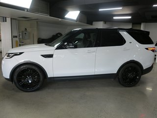 2020 Land Rover Discovery Series 5 L462 MY20 SD4 HSE White 8 Speed Sports Automatic Wagon
