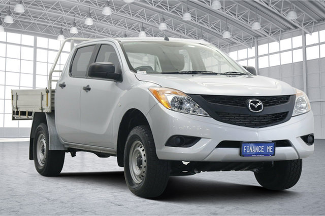 Used Mazda BT-50 UP0YF1 XT 4x2 Hi-Rider Victoria Park, 2014 Mazda BT-50 UP0YF1 XT 4x2 Hi-Rider Silver 6 Speed Sports Automatic Utility