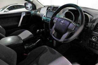 2011 Toyota Landcruiser Prado KDJ150R GX White 6 Speed Manual Wagon