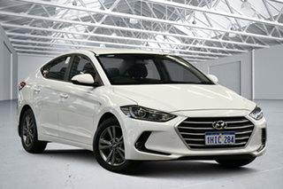 2016 Hyundai Elantra AD Active 2.0 MPI White 6 Speed Automatic Sedan.