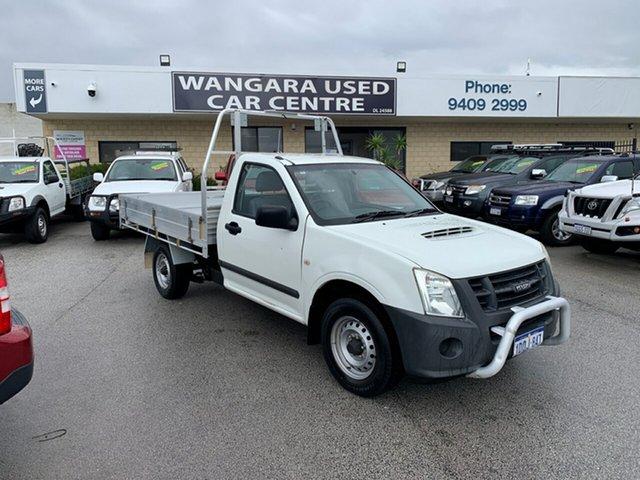 Used Isuzu D-MAX TF MY10 SX (4x2) Wangara, 2010 Isuzu D-MAX TF MY10 SX (4x2) White 5 Speed Manual Cab Chassis