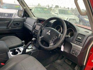 2009 Mitsubishi Pajero NT GLS LWB (4x4) Red 5 Speed Auto Sports Mode Wagon