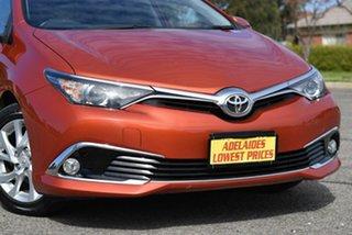 2018 Toyota Corolla ZRE182R Ascent Sport S-CVT Orange 7 Speed Constant Variable Hatchback