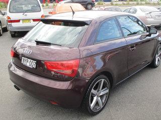2010 Audi A1 8X 1.4 TFSI Ambition Purple 7 Speed Auto Direct Shift Hatchback.