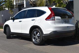 2013 Honda CR-V RM MY14 VTi-L 4WD White 5 Speed Sports Automatic Wagon.