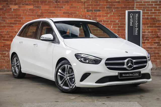 Certified Pre-Owned Mercedes-Benz B-Class W247 800+050MY B180 DCT Berwick, 2020 Mercedes-Benz B-Class W247 800+050MY B180 DCT Polar White 7 Speed Sports Automatic Dual Clutch