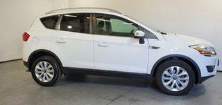 2012 Ford Kuga TE Trend AWD White 5 Speed Sports Automatic Wagon