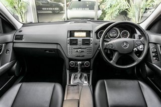 2010 Mercedes-Benz C-Class W204 MY10 C200 CGI Classic White 5 Speed Sports Automatic Sedan