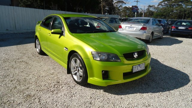 Used Holden Commodore VE MY09 SV6 Seaford, 2008 Holden Commodore VE MY09 SV6 Green 5 Speed Sports Automatic Sedan