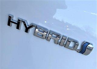 2021 Toyota Yaris Mxph10R SX Hybrid Glacier White 1 Speed Constant Variable Hatchback Hybrid.