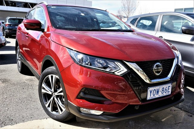 New Nissan Qashqai J11 Series 3 MY20 ST-L X-tronic Phillip, 2021 Nissan Qashqai J11 Series 3 MY20 ST-L X-tronic Magnetic Red 1 Speed Constant Variable Wagon