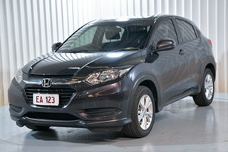 2017 Honda HR-V MY17 VTi Black/Grey 1 Speed Constant Variable Hatchback.