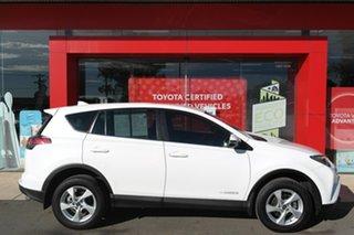 2016 Toyota RAV4 ALA49R GX AWD White 6 Speed Sports Automatic Wagon.