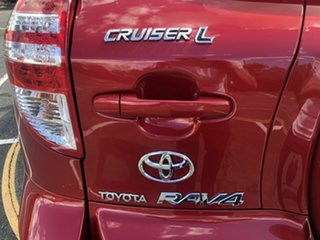 2010 Toyota RAV4 ACA33R MY09 Cruiser L Red 4 Speed Automatic Wagon