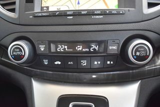 2013 Honda CR-V RM MY14 VTi-L 4WD White 5 Speed Sports Automatic Wagon
