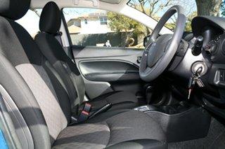 2020 Mitsubishi Mirage LB MY21 ES Blue 1 Speed Constant Variable Hatchback