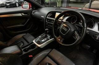 2011 Audi A5 8T MY11 Sportback S Tronic Quattro Red 7 Speed Sports Automatic Dual Clutch Hatchback