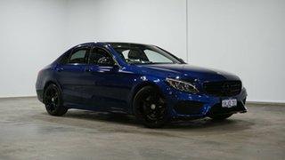 2016 Mercedes-Benz C-Class W205 806+056MY C200 7G-Tronic + Brilliant Blue 7 Speed Sports Automatic.