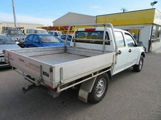 2009 Holden Colorado RC MY09 LX (4x4) White 5 Speed Manual Crew Cab Pickup
