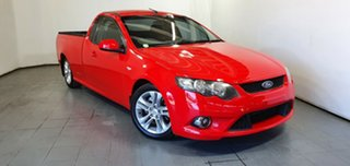 2009 Ford Falcon FG XR6 Ute Super Cab Red 6 Speed Manual Utility.
