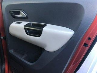 2014 Volkswagen Amarok 2H MY14 TDI420 4MOTION Perm Canyon Orange 8 Speed Automatic Utility