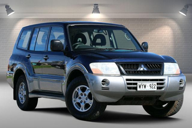 Used Mitsubishi Pajero NP GLS Gepps Cross, 2003 Mitsubishi Pajero NP GLS Blue 5 Speed Sports Automatic Wagon